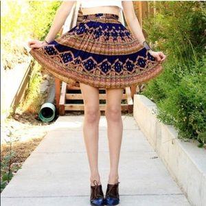 Edme & Esyllte Anthropologie Pleated Skirt Medium